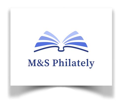 M&S Philately Logo