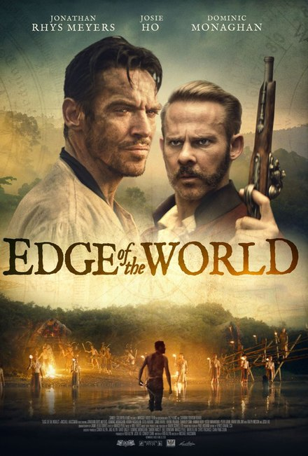 Poster for the 2021 film, Edge of the World