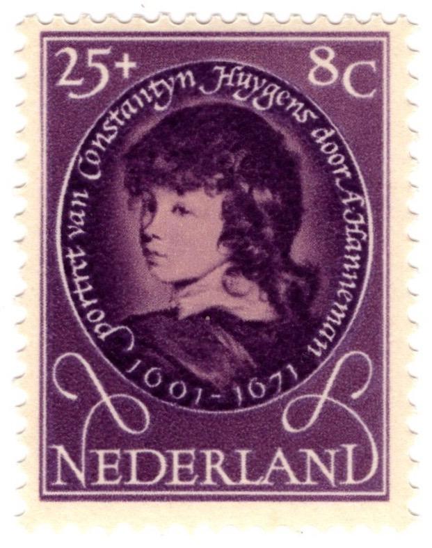 1955 Netherlands Child Welfare Fund 25c+8c stamp